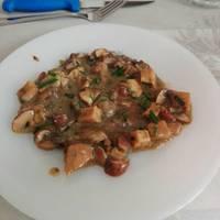 Setas Enoki con Tofu (Receta ligera y saludable)