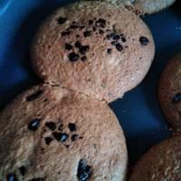 Galletas caseras con pedacitos de chocolate