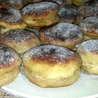 Bollitos rellenos de nutella casera sin azúcar, sin horno