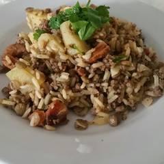 Foto de Guiso de lentejas con arroz