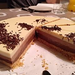 Foto de Tarta tres chocolates