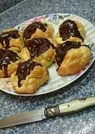 Profiteroles 🍦🍩Con cobertura de Chocolate 🍫