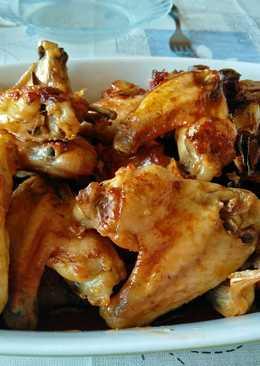 Alitas de pollo al horno para torpes