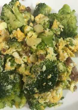 Revuelto de brócoli