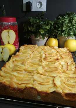 Tarta de manzana gigante