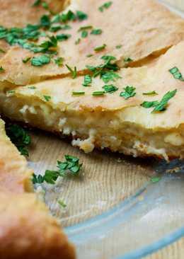 El pastel con tres quesos de Osetia