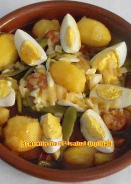 Judias verdes con chorizo 80 recetas caseras cookpad - Judias con chorizo y patatas ...
