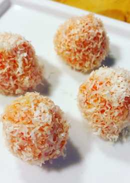 Bombones de zanahoria