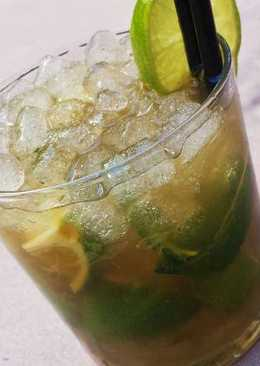 Mojito sin alcohol refrescante