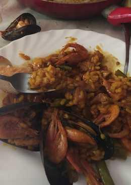 Paella ecológica granaina