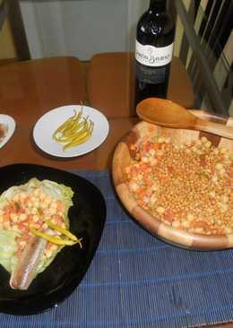 Ensalada dos legumbres