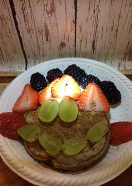 Happy Maca Pancakes