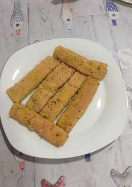Flamenquines de Jamón York y queso