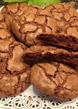 Galletas de Brownie, muy sencillas