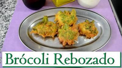 Brócoli rebozado