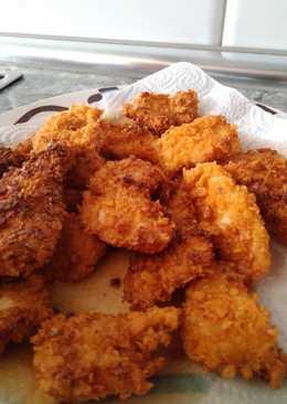 Nuggets de pollo con Doritos