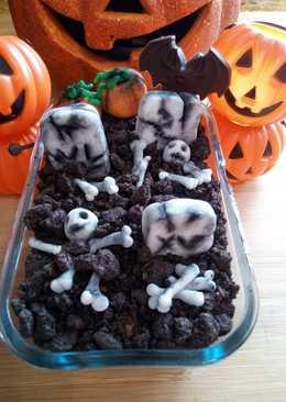 Gachas Dulces con decoración para Halloween