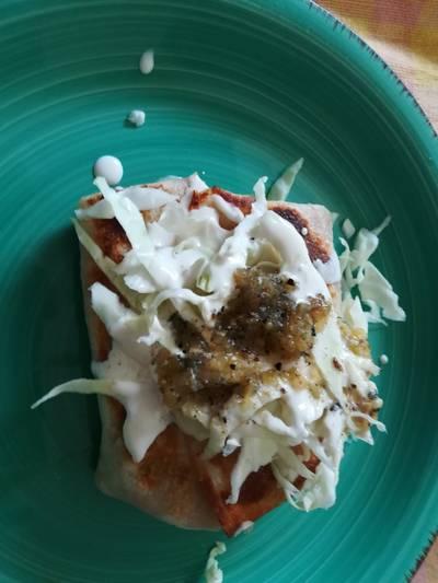 #LaCocinaNosUne. Burritos de pierna de cerdo y frijoles