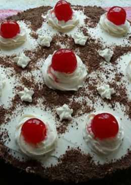 Tarta de chocolate con cerezas 🎂🍫🍒