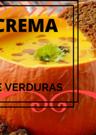 Crema de Verduras Mixtas