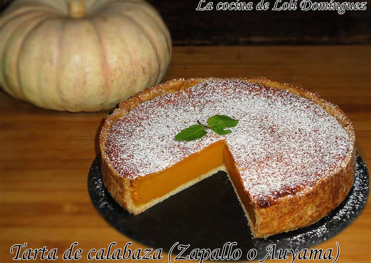 Tarta de calabaza (Zapallo o Auyama)