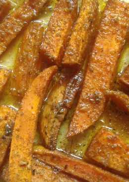 Batatas al horno, guarnición sana y deliciosa