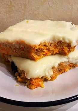 Barritas de carrot cake y coco para desayuno sin horno (zanahoria y coco, dulces y saludables)