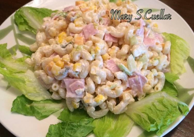 ensalada de coditos a mi estilo receta de mary s cuellar
