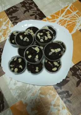 Magdalena de chocolate sin azúcar apto para diabéticos