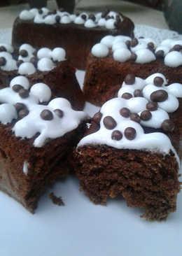 Budincitos de chocolate sin harina, apto celíacos