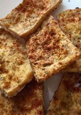 Chips de tofu