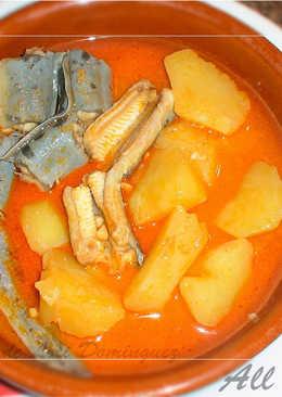 All i Pebre (En Valenciano) de anguilas