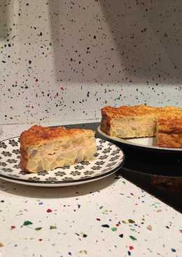 Tortilla de patata rellena(en horno)