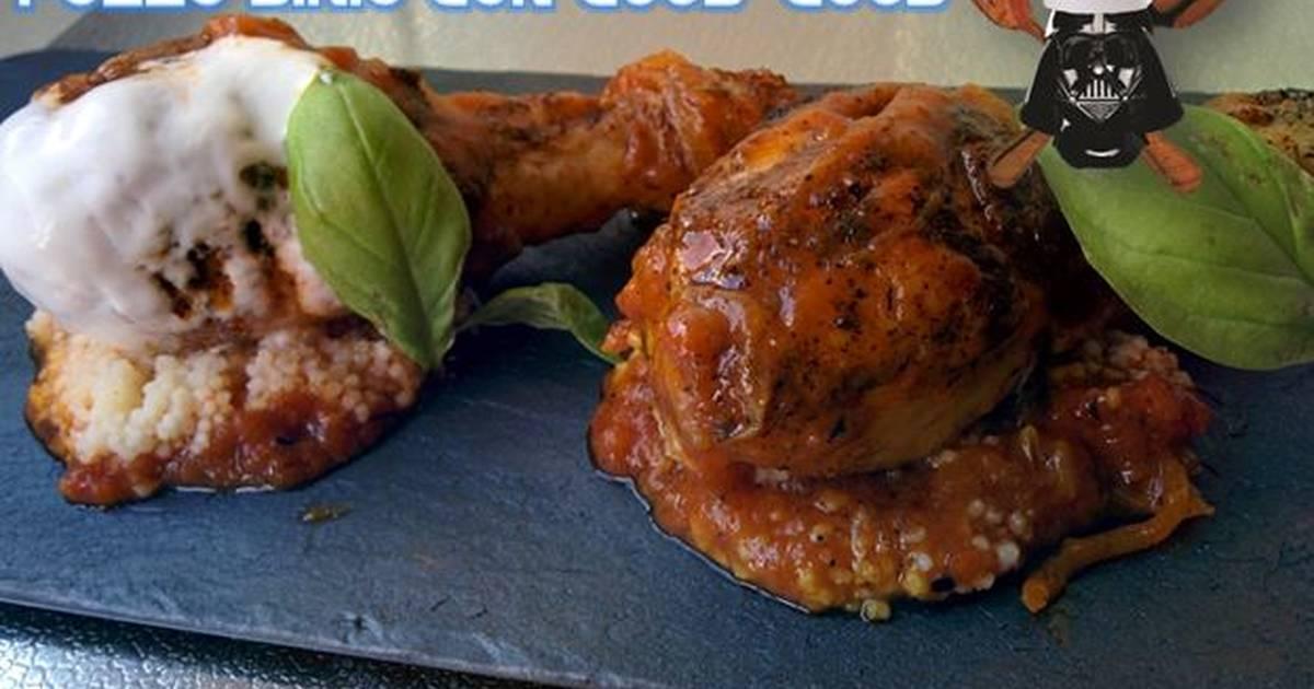 Muslitos de pollo al estilo sirio receta de conaceiteysal - Muslitos de pollo ...