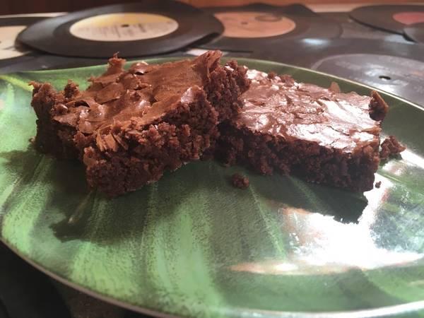 Brownies fáciles con cacao en polvo en 4 pasos🍫🥜💖💁🏻