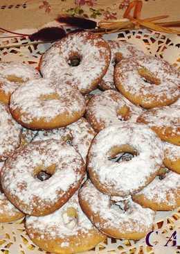 Rosquillas de avellana sin gluten