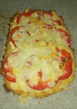 Pizza -masa de col