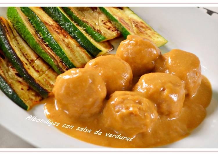 Alb ndigas con salsa de verduras a thermomix receta de - Albondigas con verduras ...