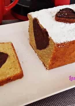 Plum Cake Corazón de Chocolate