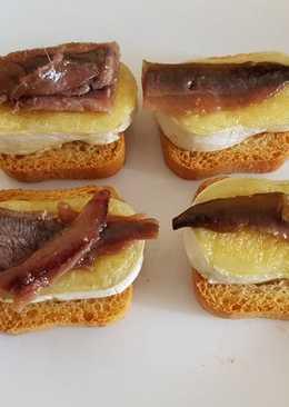 Anchoas Queso Snack
