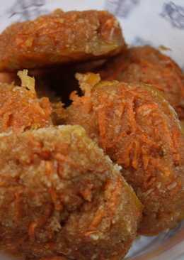 Galletas de zanahoria sin gluten ni lactosa