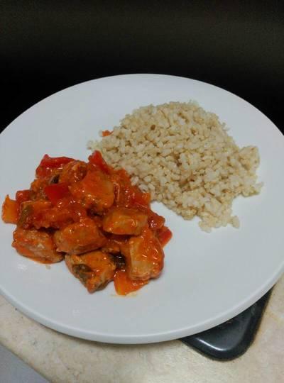 Atún con tomate natural en 10 minutos