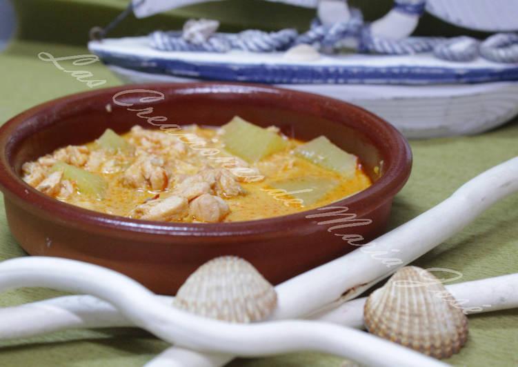 43a873c67 Marmitako de salmón, en la monsieur cuisine Receta de Las Creaciones ...