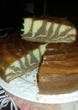 Torta cebra a mi manera 😉