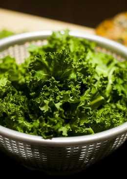 ¿Cómo preparar la col kale antes de cocinarla? #superalimento