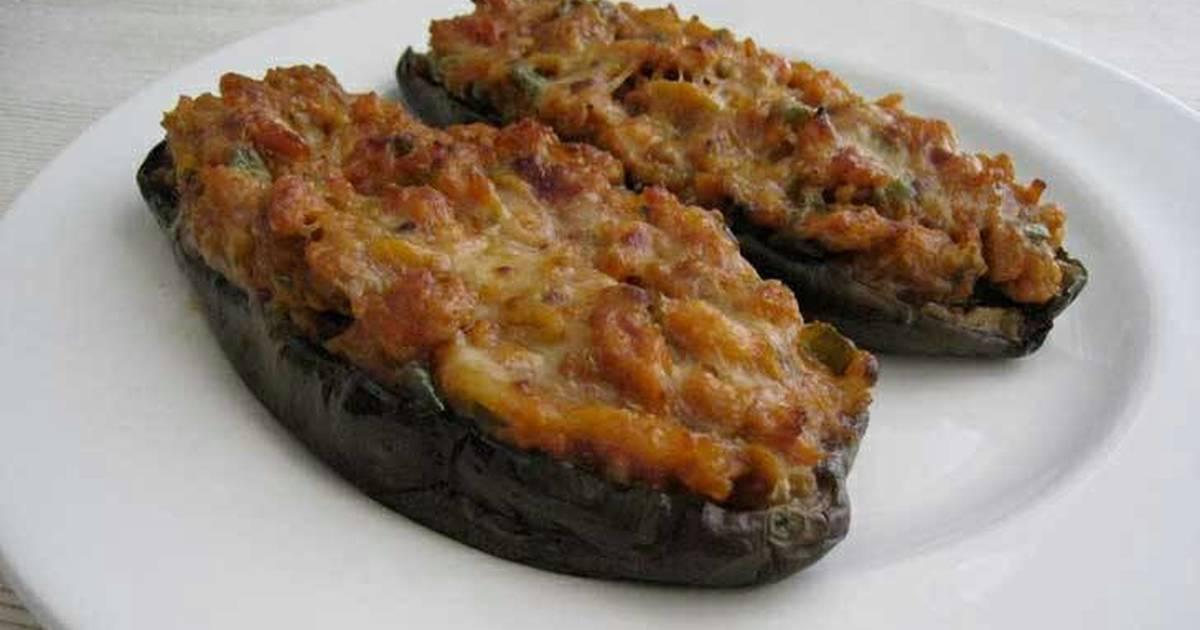 Berenjenas rellenas al horno receta de carmen dalmau cookpad - Berenjenas rellenas al horno ...