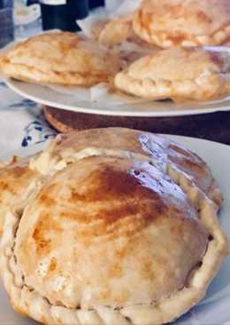 Empanadillas de caballa, huevo y tomate