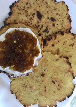 Pan de soja especiado a la sartén (tipo chapati)