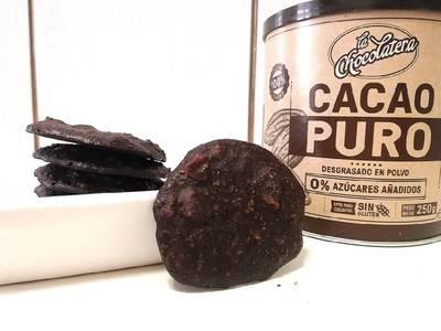 Galletas de Cacao, Avena y Almendras • Súper Fit 💗