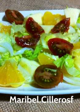 Ensaladas tradicionales 20 recetas caseras cookpad for Cocinar ortiguillas
